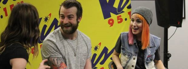 Paramore na Rádio Kiss 95.1 FM