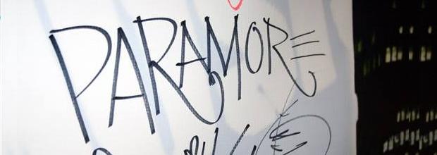 Paramore visita a Now FM; veja fotos