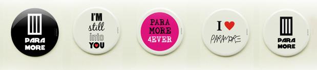 Concurso Cultural: Ganhe botons exclusivos do Paramore