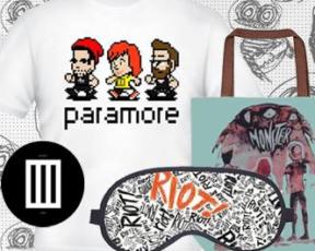 Sorteios: Concorra a kits do Paramore