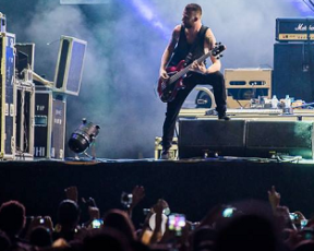 Fotos e vídeos do show no Circuito Banco do Brasil do Rio de Janeiro