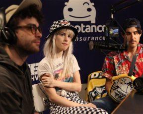 Paramore concede entrevista para a rádio 1075 The River